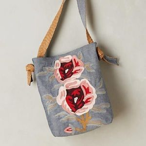 Jasper & Jeera Cottage Rose Hobo Bag